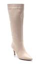 5638202790 Kadın Deri İnce Topuklu Çizme