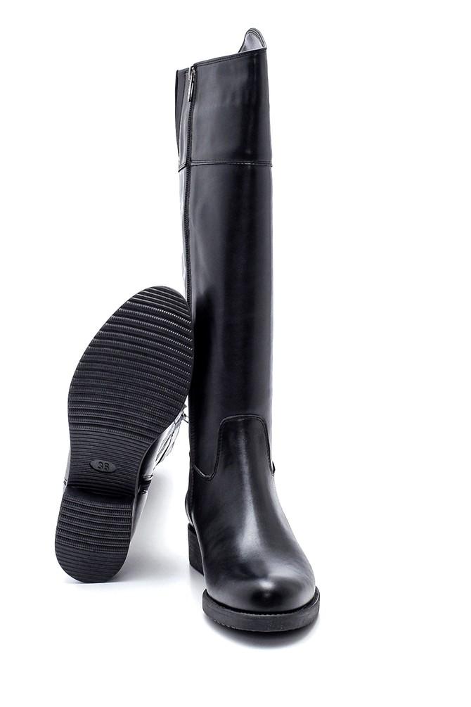 5638304256 Kadın Fermuarlı Çizme