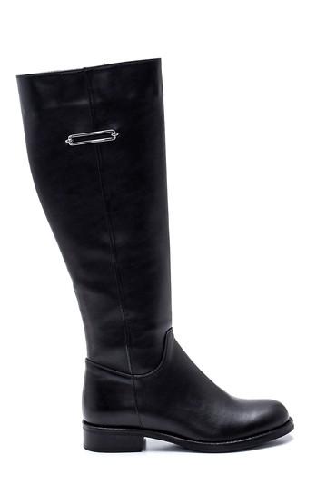 Siyah Kadın Fermuarlı Çizme 5638304266