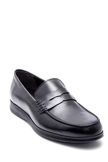 Siyah Erkek Deri Loafer 5638332663