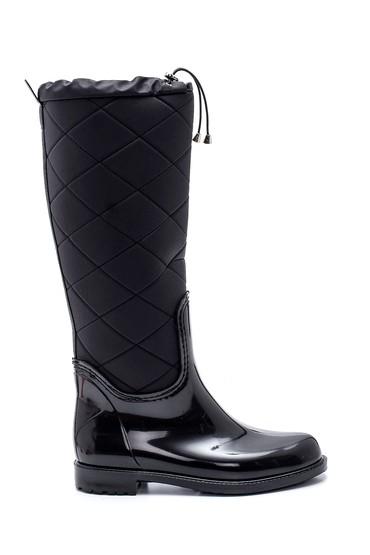 Siyah Kadın Yağmur Çizmesi 5638349531