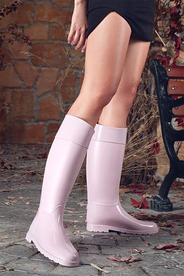 Lila Kadın Yağmur Çizmesi 5638349563