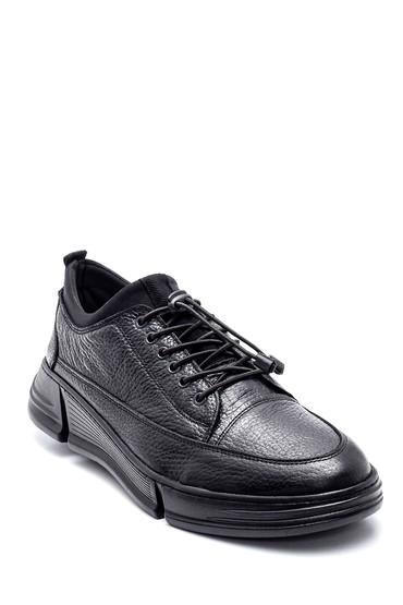 Siyah Erkek Deri Ayakkabı 5638309810