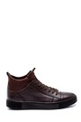 5638313470 Erkek Deri Boğazlı Sneaker