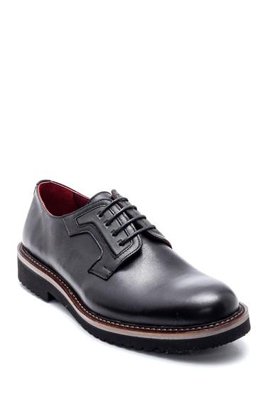 Siyah Erkek Deri Casual Ayakkabı 5638314644