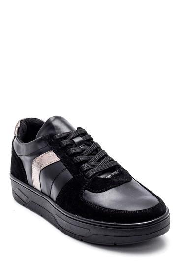 Siyah Kadın Şerit Detaylı Sneaker 5638328198