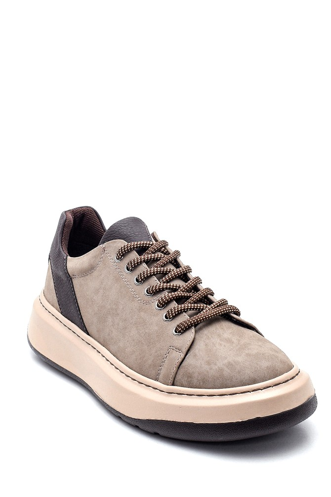 5638340098 Erkek Baskı Detaylı Sneaker