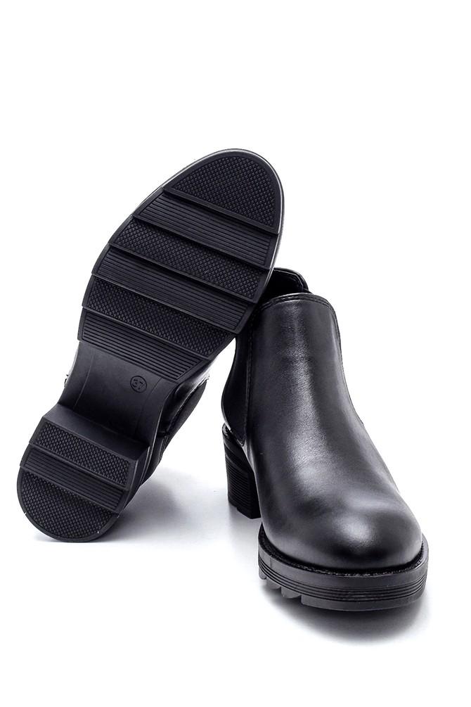 5638349090 Kadın Lastikli Topuklu Bot