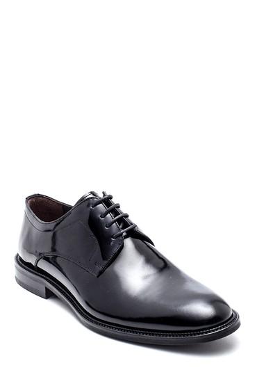 Siyah Erkek Deri Klasik Ayakkabı 5638367097