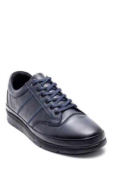 Lacivert Erkek Deri Casual Ayakkabı 5638320809