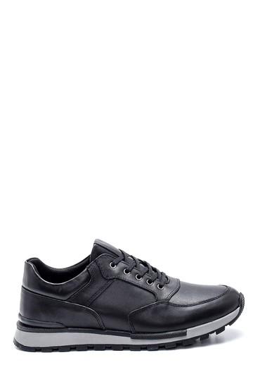 Siyah Erkek Deri Sneaker 5638320840