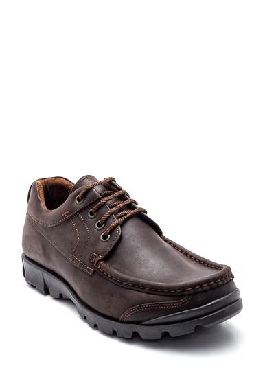 Kahverengi Erkek Deri Casual Ayakkabı 5638324354