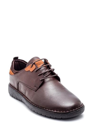 Kahverengi Erkek Deri Casual Ayakkabı 5638324597