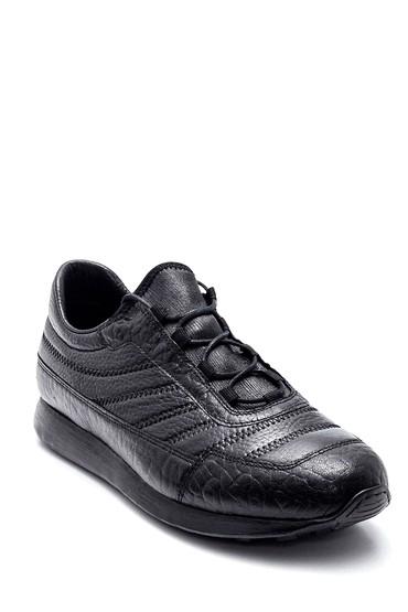 Siyah Erkek Deri Casual Ayakkabı 5638331543