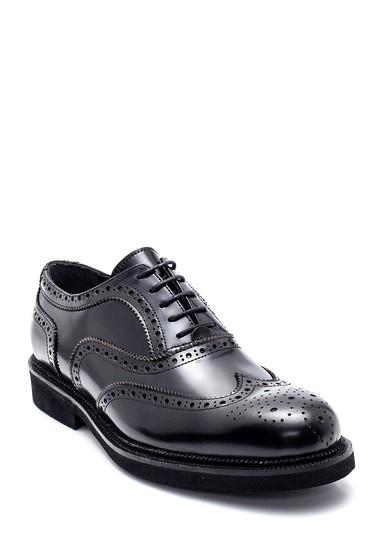 Siyah Erkek Deri Casual Ayakkabı 5638332072