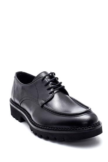 Siyah Erkek Deri Casual Ayakkabı 5638336483