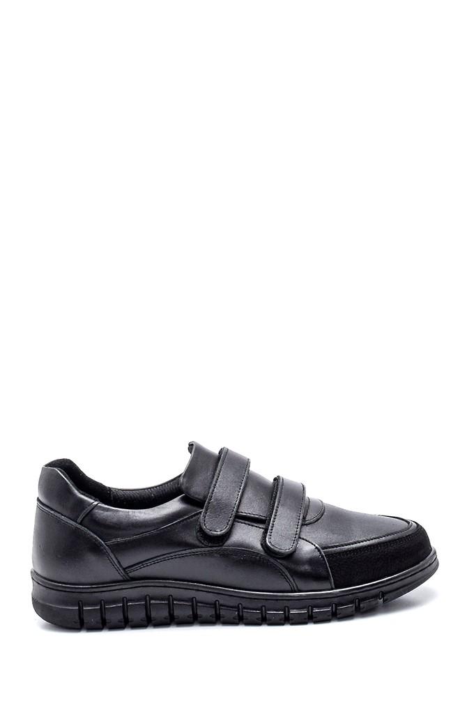 Siyah Kadın Deri Comfort Ayakkabı 5638348416