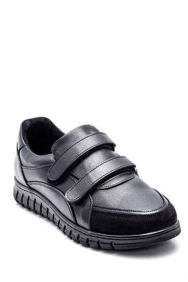 Siyah Kadın Deri Comfort Ayakkabı 5638348412