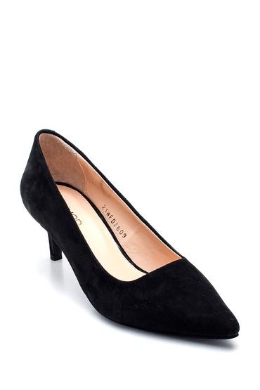 Siyah Kadın Süet Stiletto 5638352515