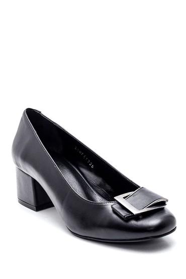 Siyah Kadın Tokalı Gova Ayakkabı 5638353602