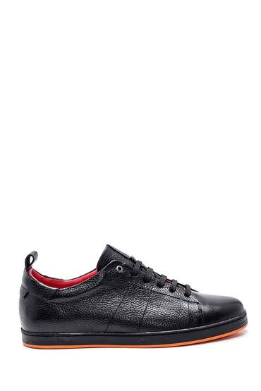Siyah Erkek Deri Casual Ayakkabı 5638357327