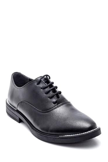 Siyah Kadın Oxford Ayakkabı 5638361948