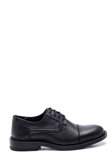 Siyah Erkek Deri Casual Ayakkabı 5638313945