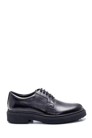 Siyah Erkek Deri Casual Ayakkabı 5638317195