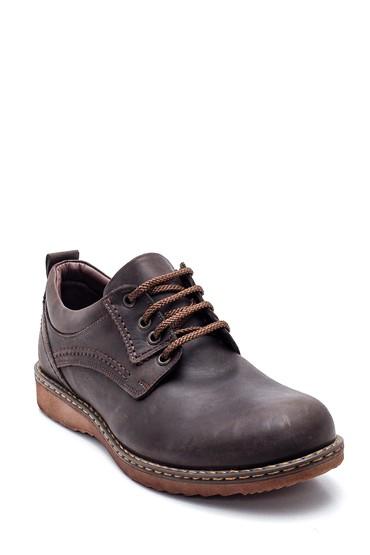 Kahverengi Erkek Deri Casual Ayakkabı 5638324387