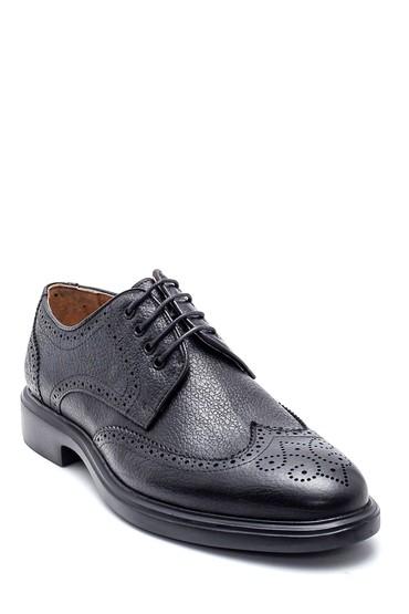 Siyah Erkek Deri Casual Ayakkabı 5638327461