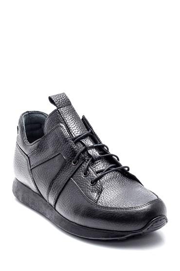 Siyah Erkek Deri Casual Ayakkabı 5638331558