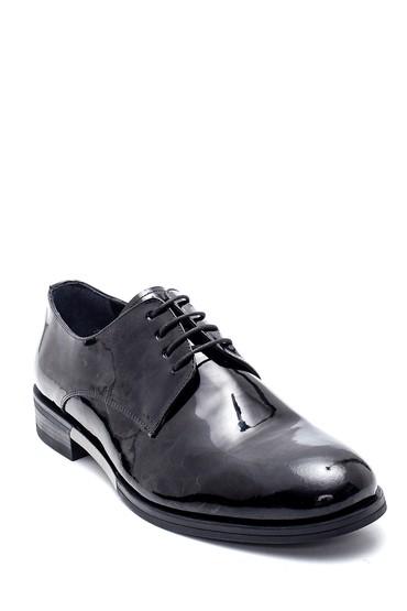 Siyah Erkek Deri Klasik Rugan Ayakkabı 5638337910
