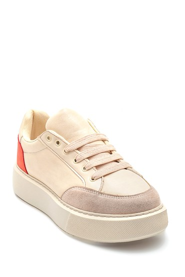 Bej Kadın Sneaker 5638347206