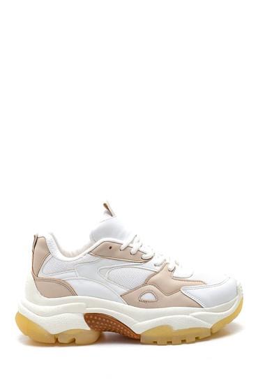 Bej Kadın Sneaker 5638347227