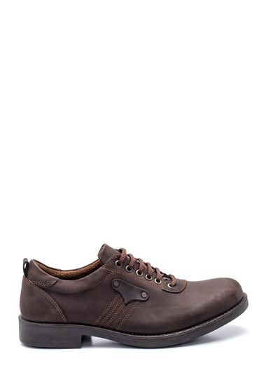 Kahverengi Erkek Deri Casual Ayakkabı 5638324453