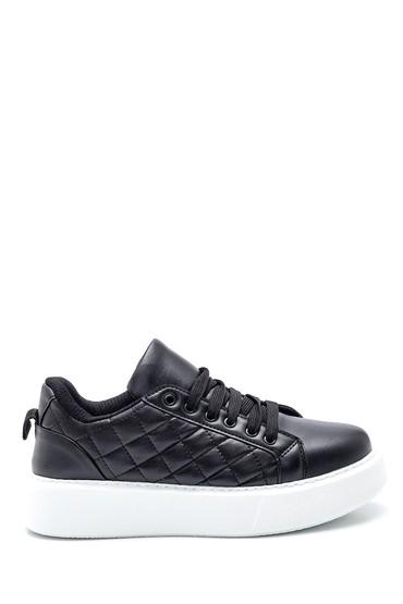 Siyah Kadın Kapitone Sneaker 5638347218