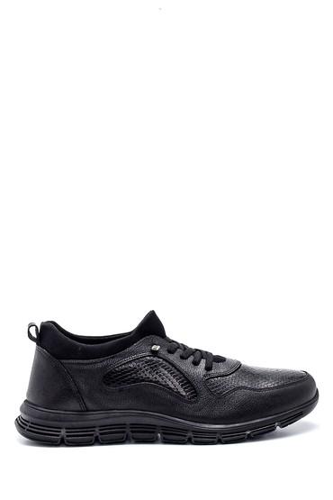 Siyah Erkek Deri Casual Ayakkabı 5638318928