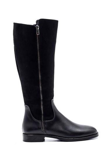 Siyah Kadın Fermuarlı Çizme 5638238189