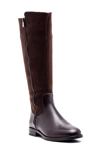 Kahverengi Kadın Fermuarlı Çizme 5638238180