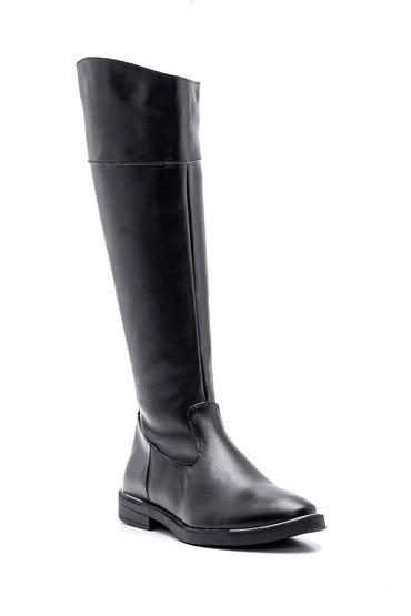 Siyah Kadın Fermuarlı Çizme 5638238221