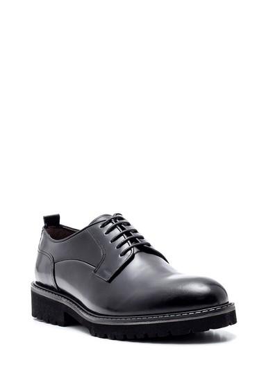 Siyah Erkek Deri Casual Ayakkabı 5638314442