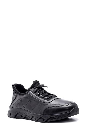 Siyah Erkek Deri Casual Ayakkabı 5638320708
