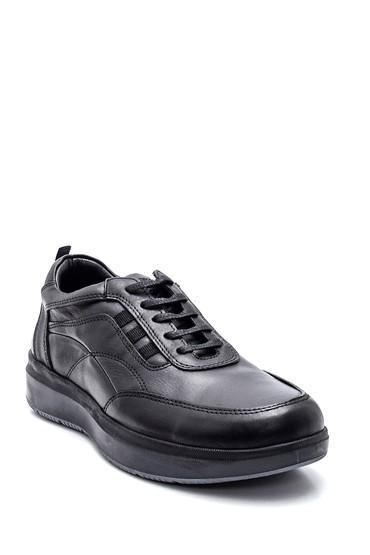 Siyah Erkek Deri Casual Ayakkabı 5638332764