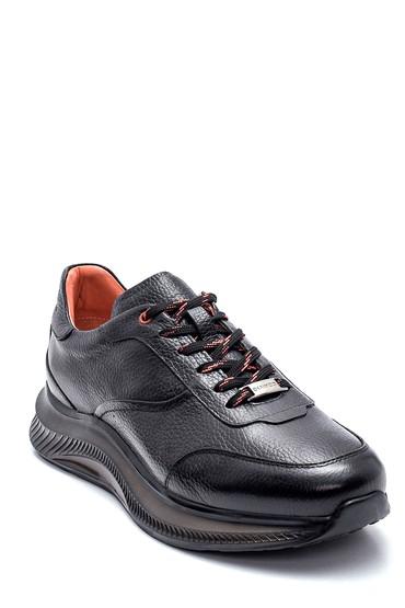 Siyah Erkek Deri Sneaker 5638320111