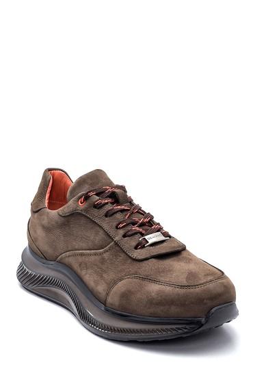 Haki Erkek Deri Nubuk Sneaker 5638320128