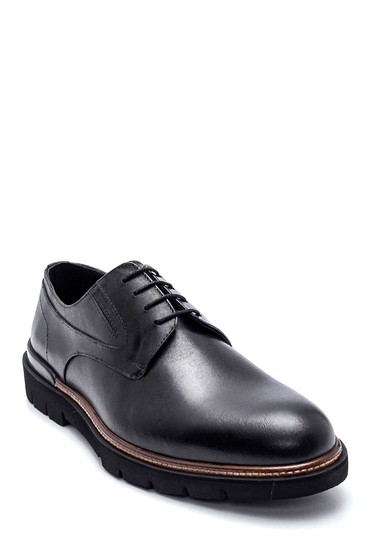 Siyah Erkek Deri Casual Ayakkabı 5638320232