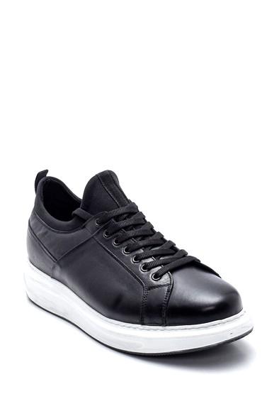 Siyah Erkek Deri Sneaker 5638323432